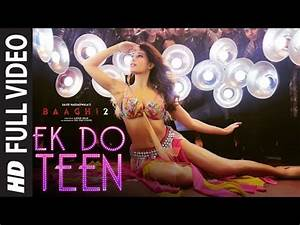 Ek Do Teen Full Video Song – Baaghi 2 – moviediwali