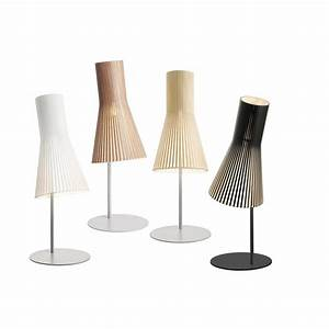 Lampe Design Bois : lampe poser au design scandinave 4220 en bois naturel otoko ~ Teatrodelosmanantiales.com Idées de Décoration