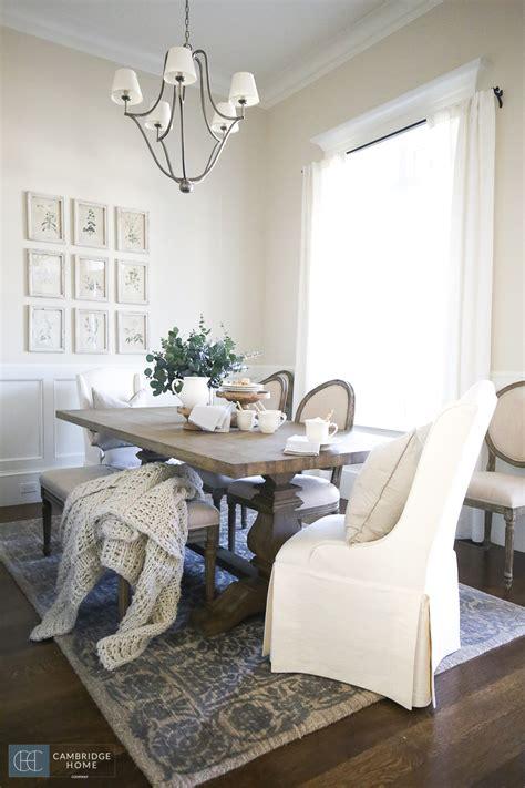 farmhouse style dining room cambridge home company