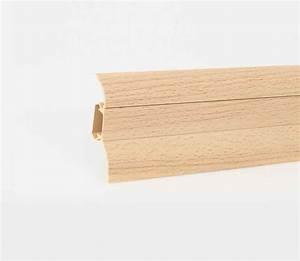 Sockelleisten Mit Kabelkanal : muster sockelleisten fussleisten laminat aus kunststoff mit kabelkanal 52x28mm ~ Orissabook.com Haus und Dekorationen