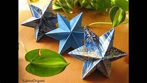Origami Stern 5 Zacken : origami dominanta star youtube ~ Watch28wear.com Haus und Dekorationen
