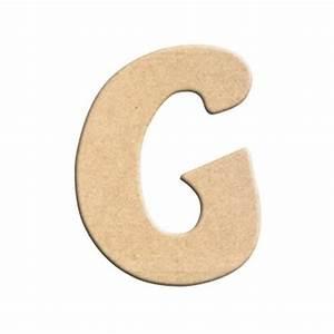 Lettre En Bois A Peindre : lettre g peindre d corer lettre en bois brut lettre ~ Dailycaller-alerts.com Idées de Décoration