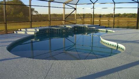 Pebble Tec Pool Deck