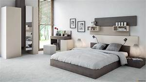 idee deco chambre tons neutres With idee deco chambre moderne