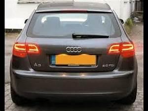 Audi A3 Break : audi a3 rear brake lights 2007 1 9 tdi youtube ~ Medecine-chirurgie-esthetiques.com Avis de Voitures