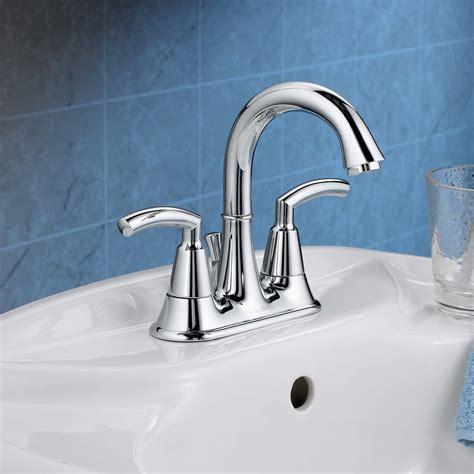 Tropic 2 Handle 4 Inch Centerset High Arc Bathroom Faucet