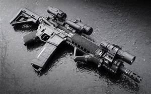 Wallpaper Assault rifle M4 Army