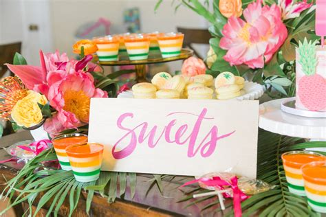 Tropical Theme : 1st Birthday Party
