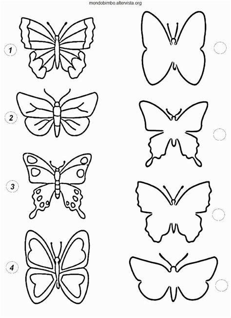 immagini colorate da stare disegni da ritagliare e colorare disegni di farfalle da