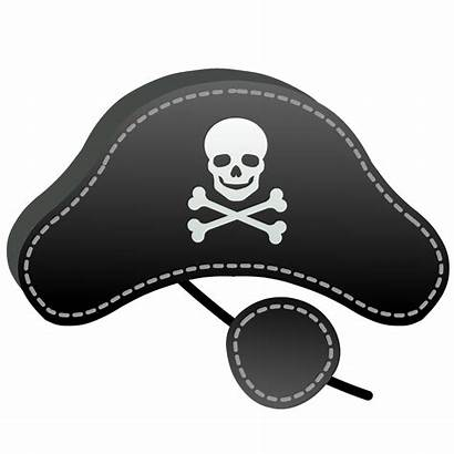 Pirate Hat Patch Eye Halloween Clipart Mask