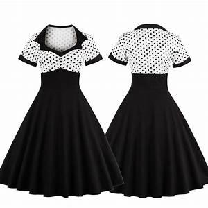 Kleidung 60 Jahre : 50er 60er jahre rockabilly kleid vintage pin up swing party tanzkleid petticoat ebay ~ Frokenaadalensverden.com Haus und Dekorationen