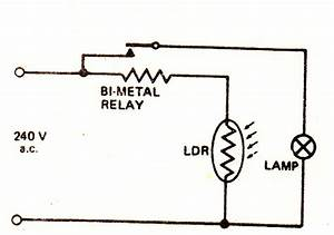 Automatic Day  Night Switch Circuit Using Bi