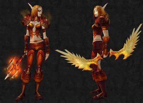transmog mary wow bloody hunter warcraft