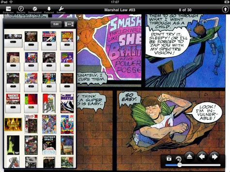 cbr reader android top five comic book apps reviewed wired