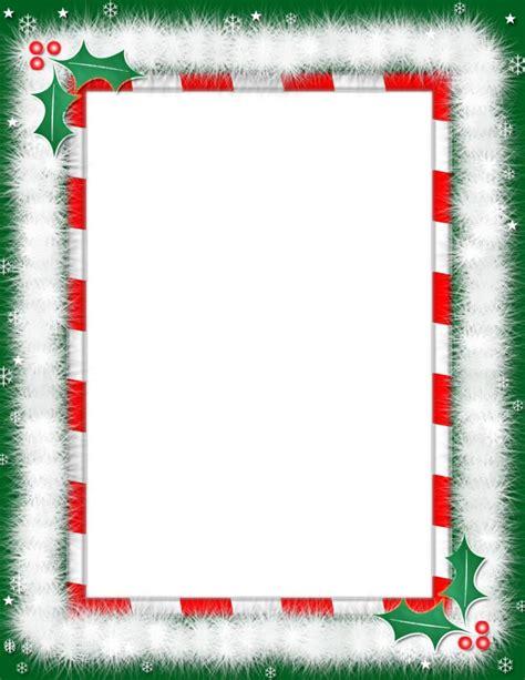 printable christmas paper  borders  printable