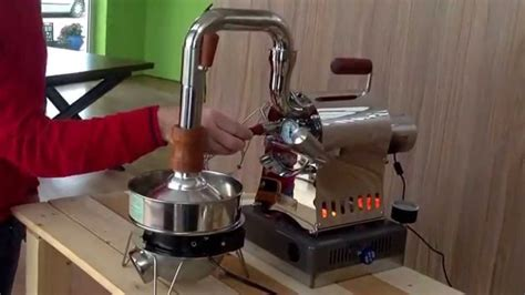 Huky 500 coffee roaster from barista.gr   YouTube