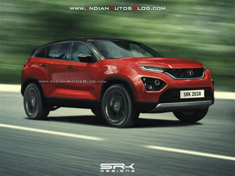 Tata H5x New Render Of The Suv's Production Version Looks