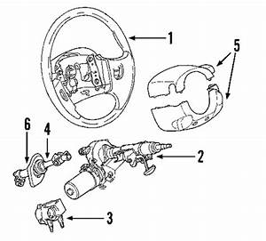 steering column parts for 2004 saturn vue With cruise control diagrams42 50 58 l