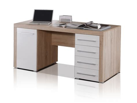 Schreibtisch Möbel schreibtisch sonoma eiche wei 223