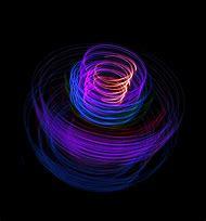 Glowing Purple Lights