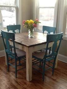 furniture kitchen table 25 best rustic kitchen tables ideas on square dinning room table diy dinning room