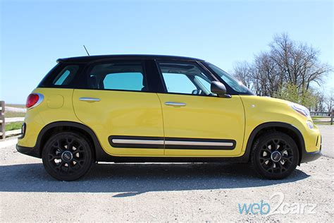 Fiat 500l Review by 2016 Fiat 500l Trekking Review Web2carz