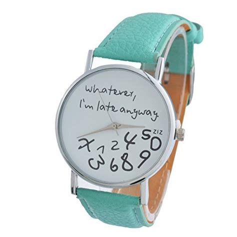 Whatever I M Late Anyway Uhr by Souarts A000a52r8 Bei Timestyles Kaufen
