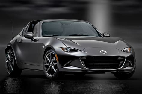 5 Things To Know About The 2017 Mazda Mx5 Miata Rf