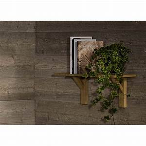 étagère Bois Brut : etag re en bois de ch ne design scandinave brut angel des ~ Melissatoandfro.com Idées de Décoration