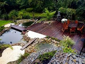 Kleiner Teich Mit Wasserfall : garten am hang bilder und beispiele f r die gestaltung ~ Whattoseeinmadrid.com Haus und Dekorationen