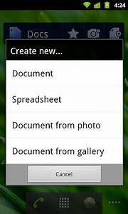 google docs for android adds real time collaboration With google docs for android review