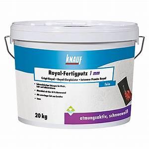 Putz Von Der Rolle : knauf fertig rollputz royal korngr e 1 mm 20 kg 5883 mineralische putze hade putze ~ Frokenaadalensverden.com Haus und Dekorationen