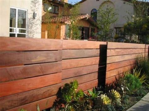 Horizontal Wooden Fences