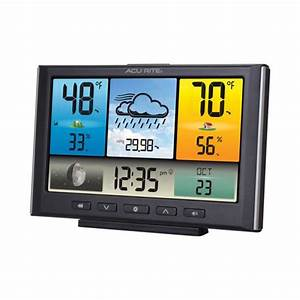 Digital Weather Station    Weather Clock With Color Display