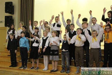 Tukuma novada internātpamatskolas tiekas koncertā «Mani ...