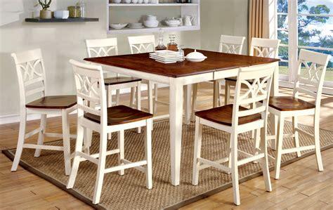 Furniture of America Vintage White Petronella 9 Piece