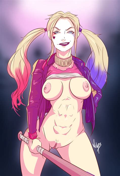 Suicide Squad Harley Quinn By Numbnutus Hentai Foundry