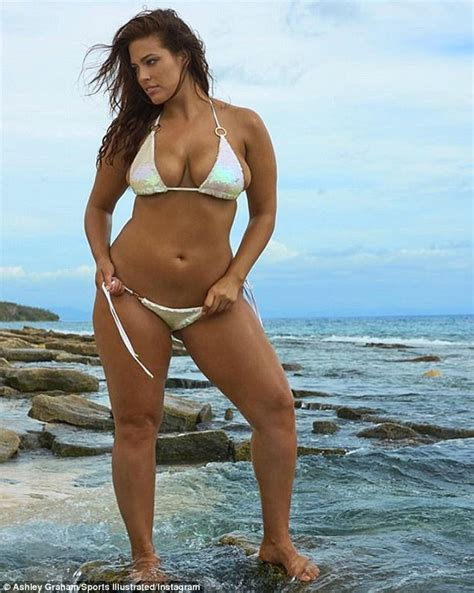 ashley williams swimsuit ashley graham shares image from sports illustrated shoot