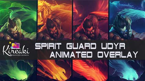 Spirit Guard Udyr Animated Wallpaper - spirit guard udyr animated overlay league of