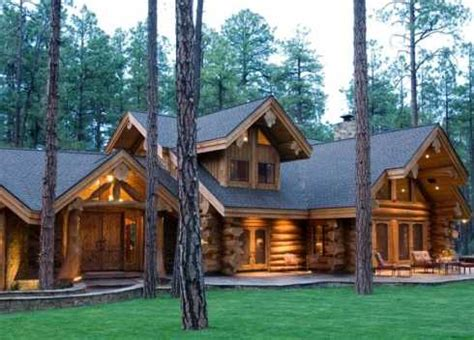 extraordinary log cabin houses big bold  beautiful