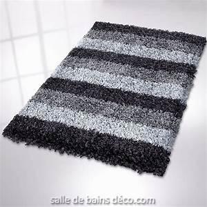 tapis de bains tapis noir taupe kleine wolke With tapis de bain noir