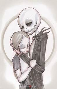 Jack and Sally The Nightmare Before Christmas by ...