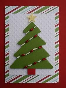 Tannenbaum Selber Basteln : 32 weihnachtskarten basteln als f r die diy weihnachtsdeko ~ Yasmunasinghe.com Haus und Dekorationen