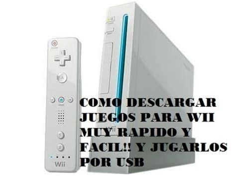 Para descargar juegos para wii y a un usb. Wii - Cargar juegos con USB o disco duro externo | Doovi