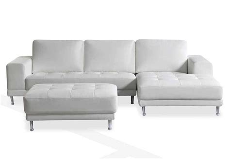 for purchasing small sectional 30 ideas of white leather sofas guid