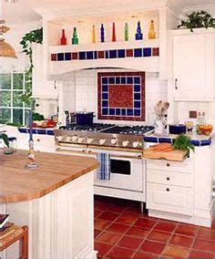 backsplash kitchen ideas white kitchen with saltillo tile tile appearance 1428