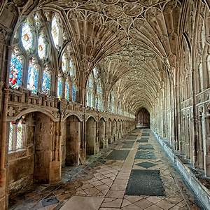 Gloucester Cathedral Cloister Photograph by Allan Van Gasbeck