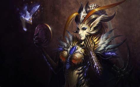 league  angels fantasy girl demon horns video game
