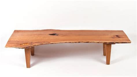 custom   edge vermont cherry coffee table