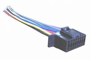 Wiring Harness For Select Sony Car Stereo 16 Pin Wire